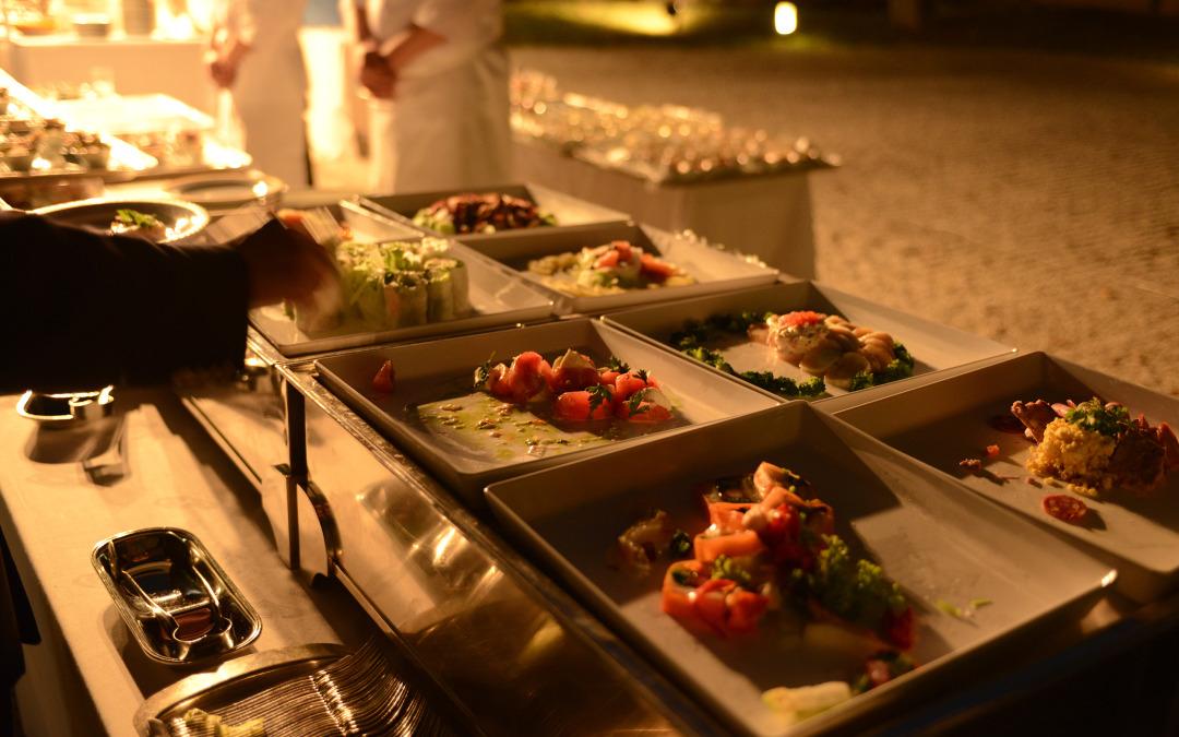 夜間庭園ケータリング -catering-