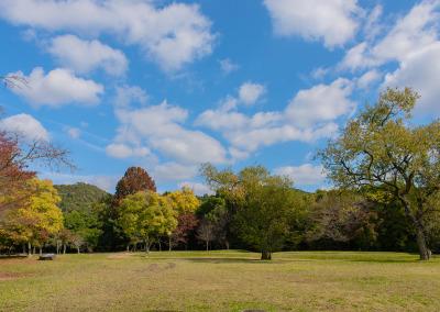 名古曽の広場