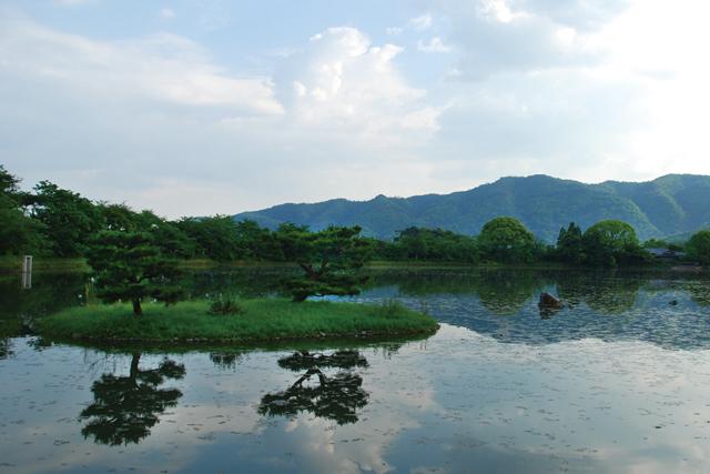 天神島・菊ヶ島・庭湖石
