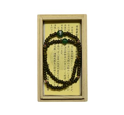大覚寺108珠緑凰腕輪念珠