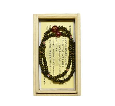 大覚寺108珠瑪瑙腕輪念珠