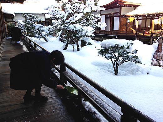 雪かき 2